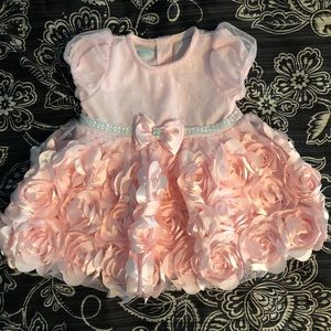 Other - Baby Girl Pink formal flowered dress